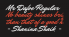 Mr Dafoe Regular