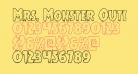 Mrs. Monster Outline