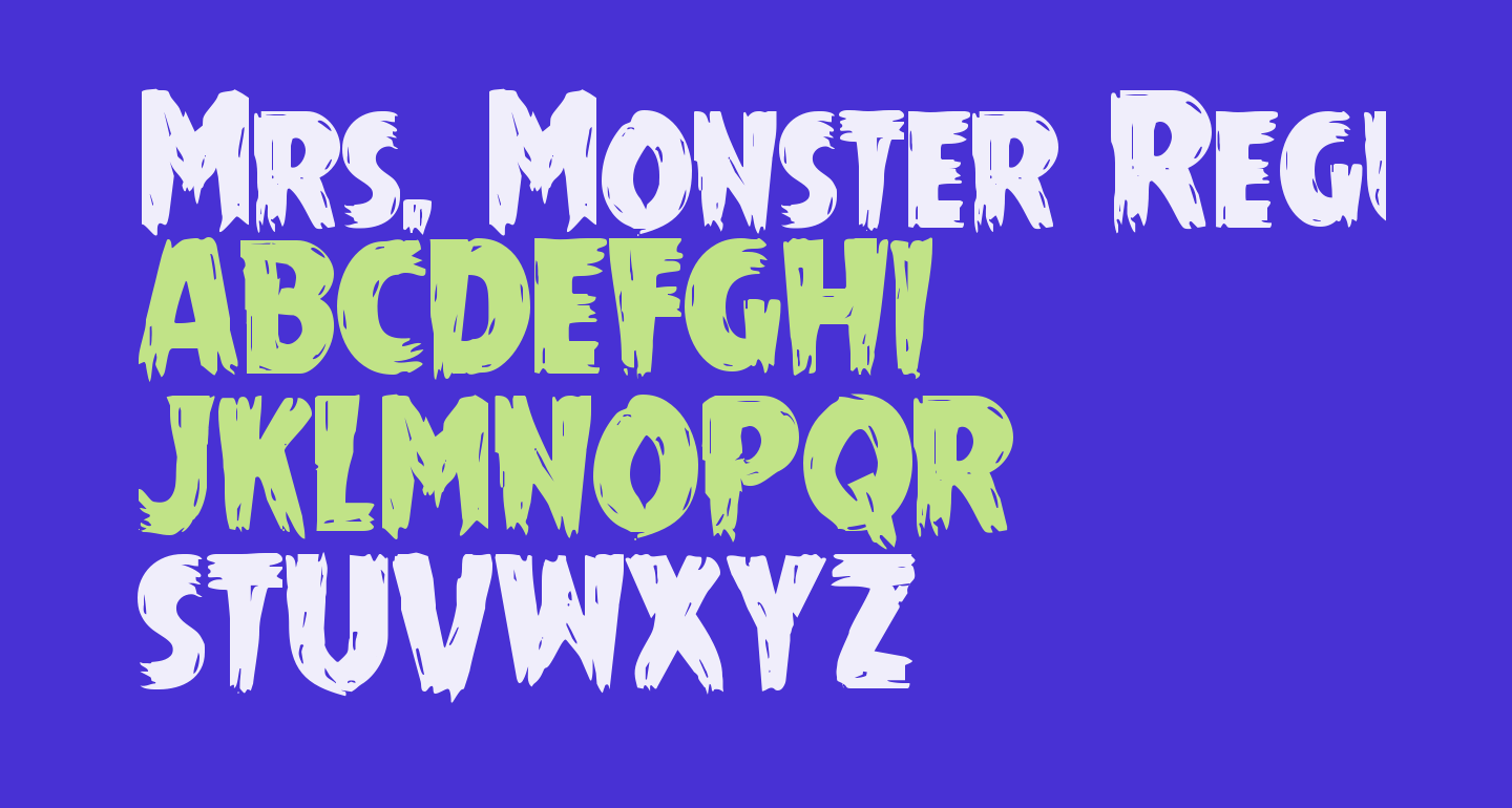 Mrs. Monster Regular