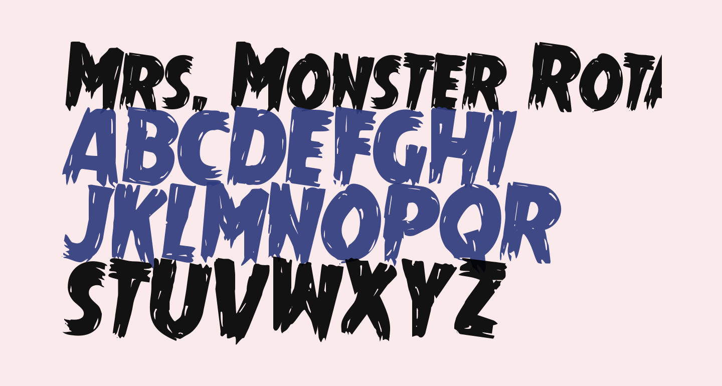 Mrs. Monster Rotated 2