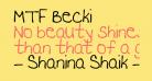 MTF Becki