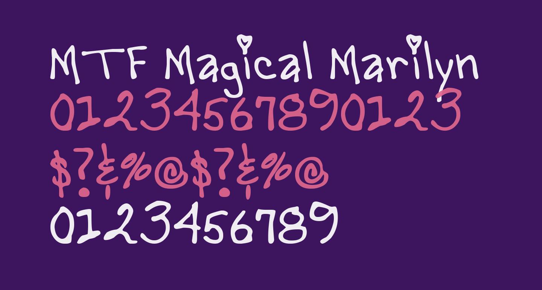 MTF Magical Marilyn