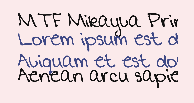MTF Mikayla Print