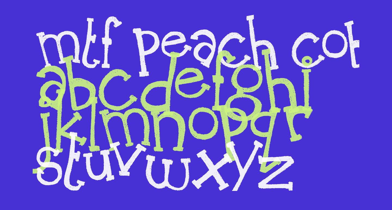 MTF Peach Cobbler