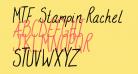 MTF Stampin Rachel