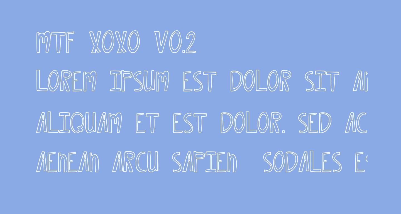 MTF XOXO Vo.2