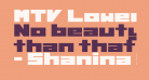 MTV Lowercase 1