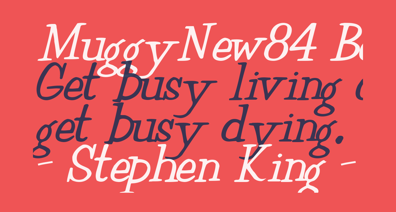 MuggyNew84 Bold