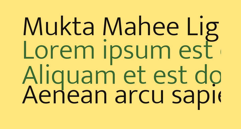 Mukta Mahee Light