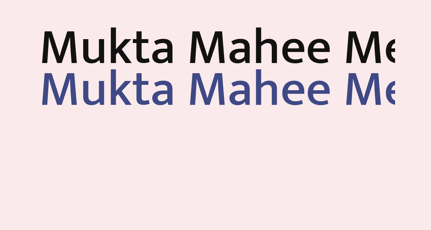 Mukta Mahee Medium
