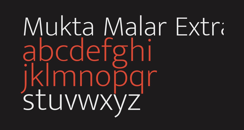 Mukta Malar ExtraLight