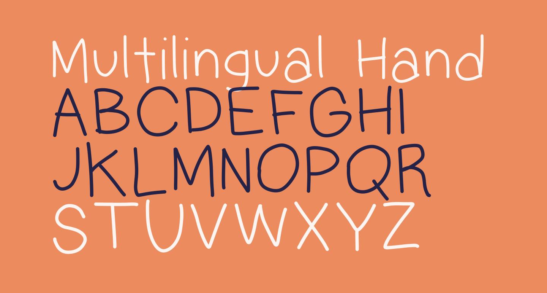 Multilingual Hand
