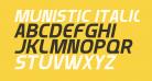 Munistic Italic
