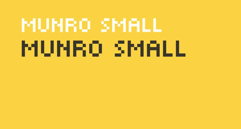 Munro Small