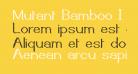 Mutant Bamboo I