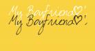 My Boyfriend's Handwriting