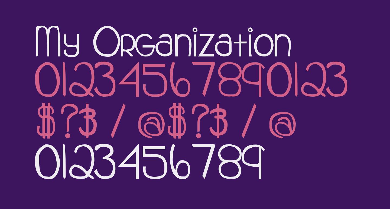 My Organization