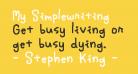 My Simplewriting