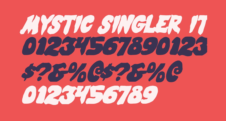 Mystic Singler Italic