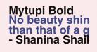 Mytupi Bold