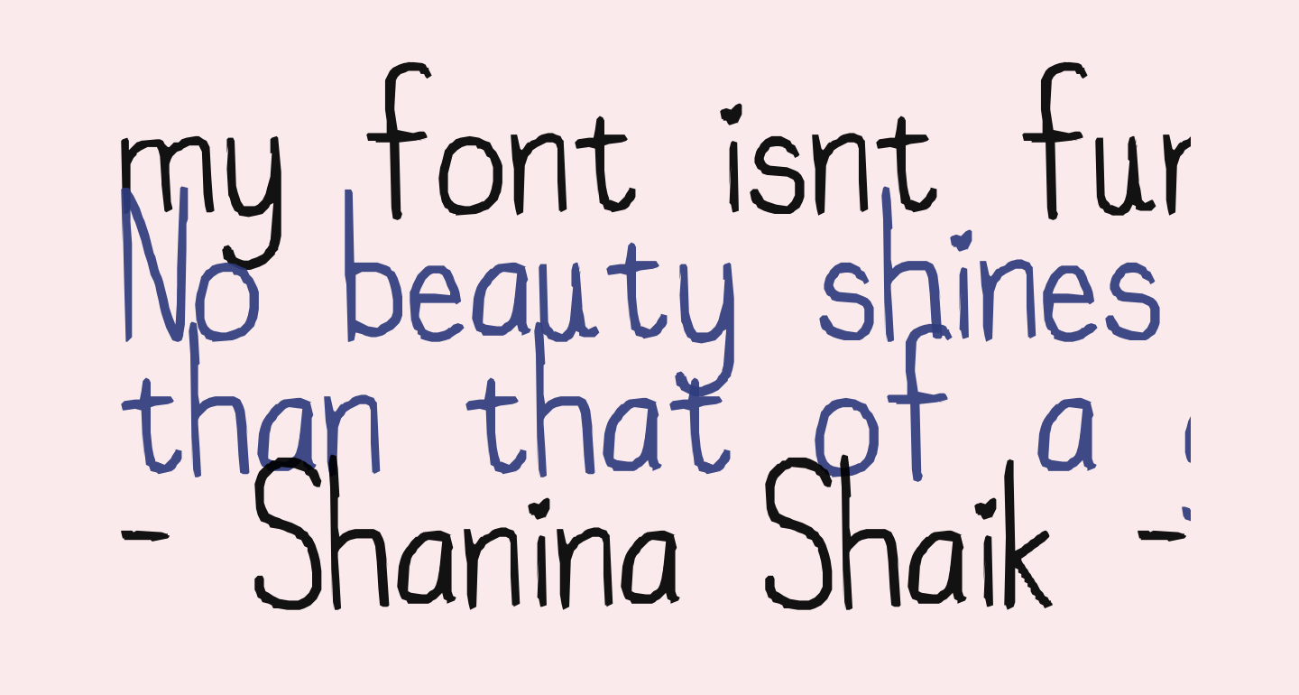 my font isnt funky enough