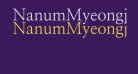 NanumMyeongjo