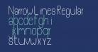 Narrow Lines Regular