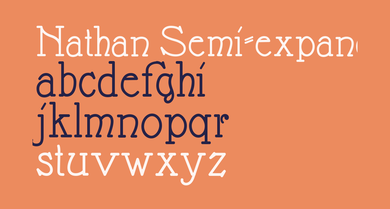 Nathan Semi-expanded Regular