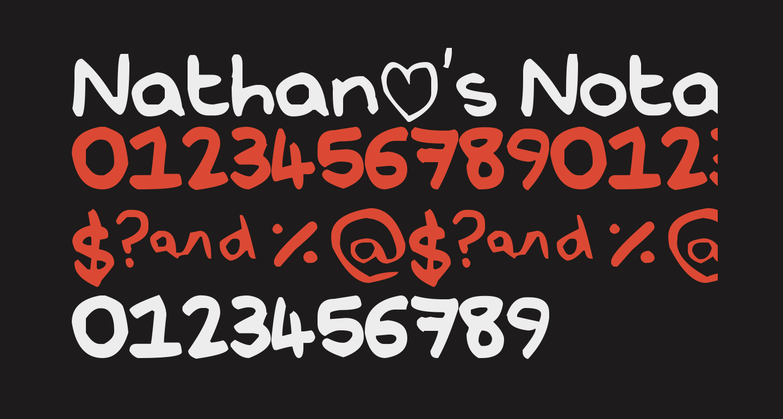 Nathan's Notations