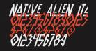Native Alien Italic