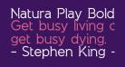 Natura Play Bold