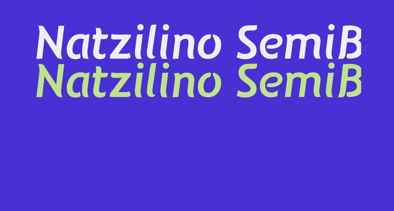 Natzilino SemiBold
