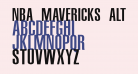 NBA Mavericks Alternate