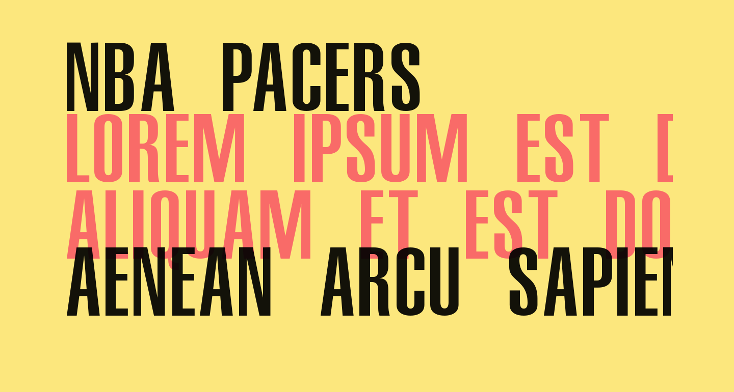 NBA Pacers