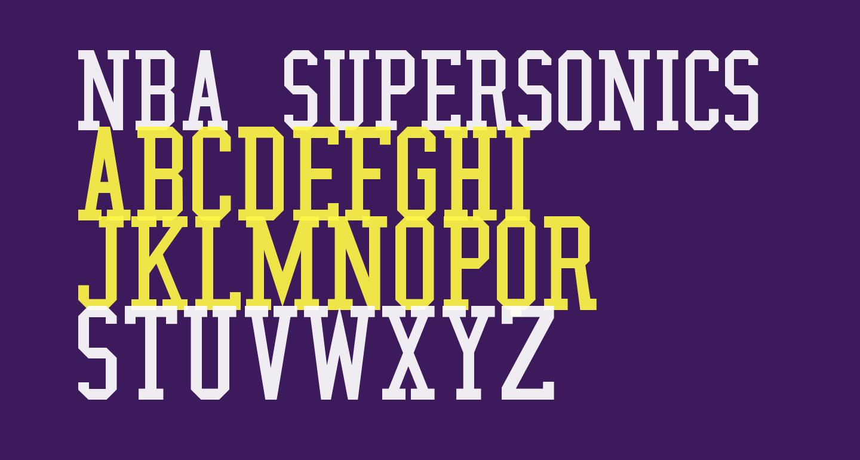NBA SuperSonics