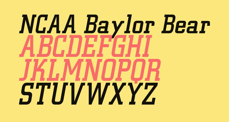 NCAA Baylor Bear Paw Attack