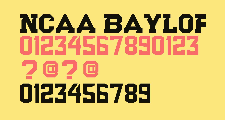 NCAA Baylor Bears Football