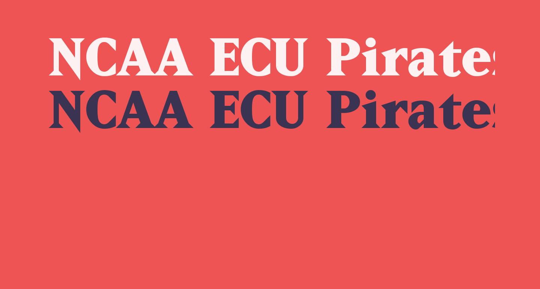 NCAA ECU Pirates