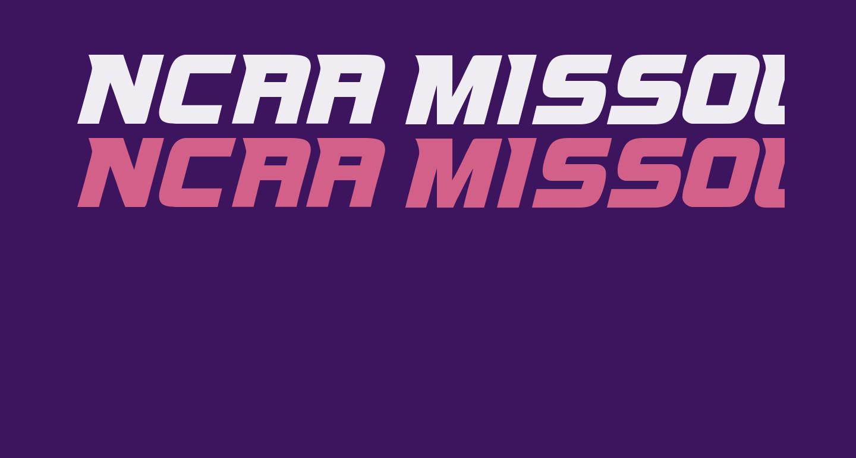 NCAA Missouri Tigers Bold
