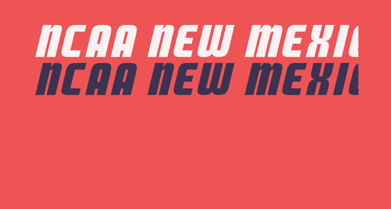 NCAA New Mexico Lobos