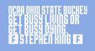 NCAA Ohio State Buckeyes