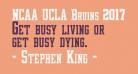 NCAA UCLA Bruins 2017 Condensed
