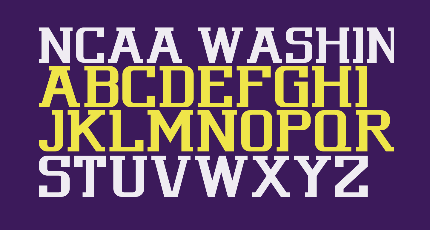 NCAA Washington Huskies