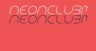 NEONCLUBMUSIC-Italic