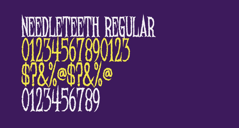 Needleteeth Regular