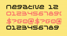Negative 12