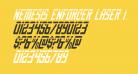 Nemesis Enforcer Laser Italic