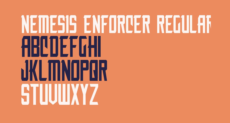 Nemesis Enforcer Regular