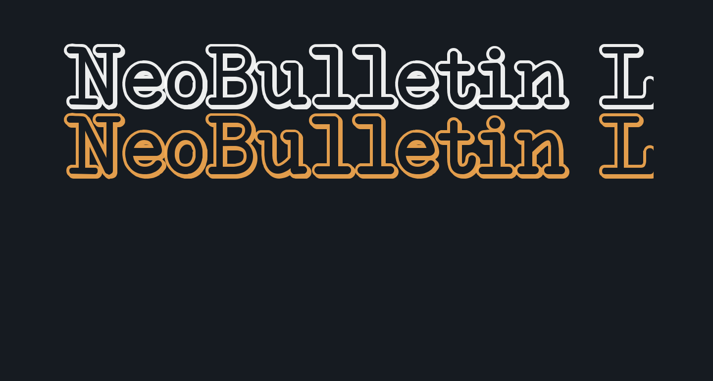 NeoBulletin Limited Shadow