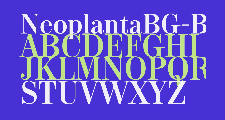 NeoplantaBG-Bold